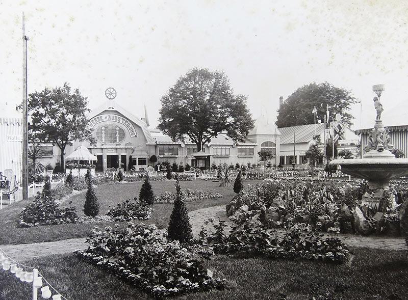 Gelände der Gewerbeausstellung 1908