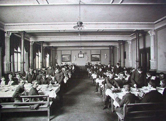 Speisesaal der Fürstenschule Grimma