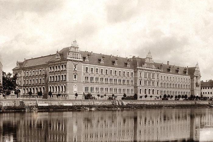 Landesschulen zu Grimma, Meißen und Schulpforte um 1900
