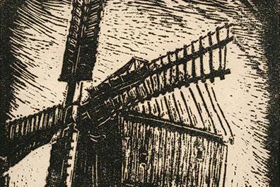 Johannes Oliva – Holzschnitte und Zeichnungen