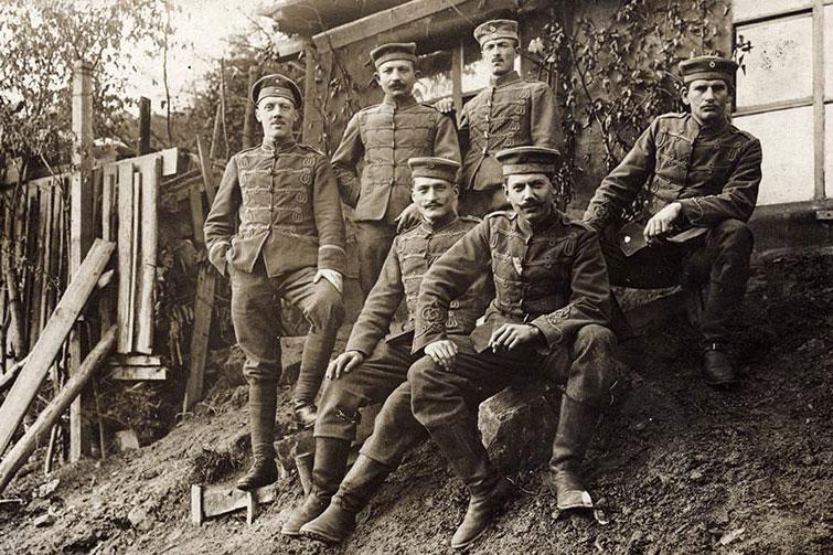 Schützengraben – Der 1. Weltkrieg im Muldental
