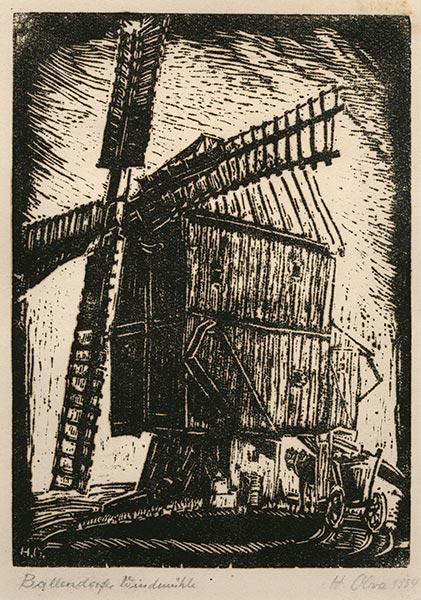 Johannes Oliva — Holzschnitte und Zeichnungen