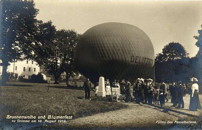 Der Grimmaer Ballonfahrer Kurt Held