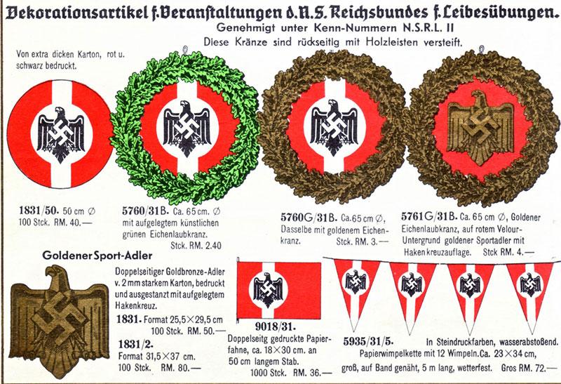 NSDAP gegen Hakenkreuze …