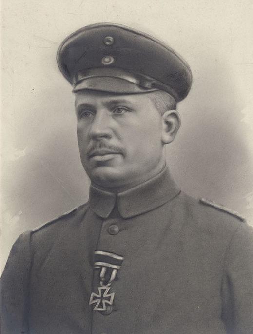 Stadtrat Rudolf Kurt Held (* 29.07.1876, † 22.05.1916), Foto 1916 (Kreismuseum)