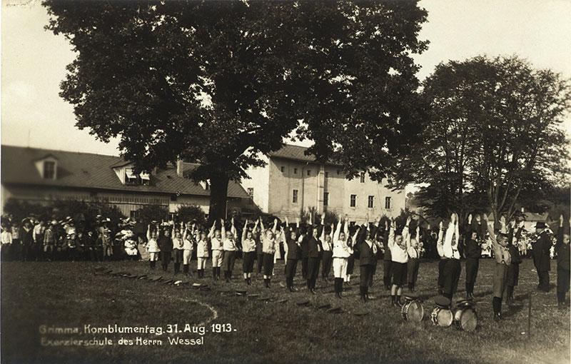 Trainieren für den Krieg – Die Knabenexerzierschule Wessel in Grimma