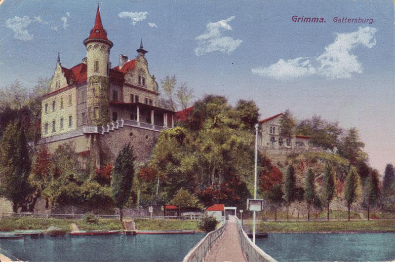 Das Märchen von der Tonnenbrücke in Grimma