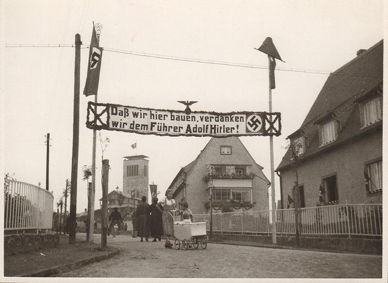 Ferdinand Walther während der NS-Zeit