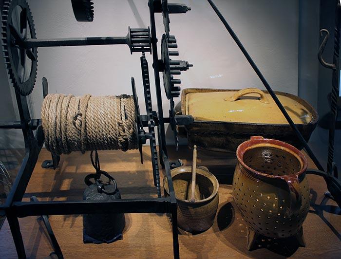 Bratenwender, um 1700