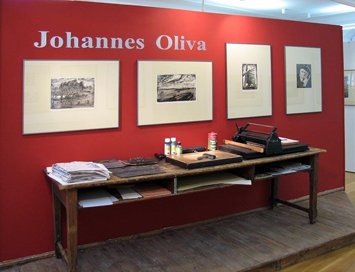 Dorfansichten von Johannes Oliva