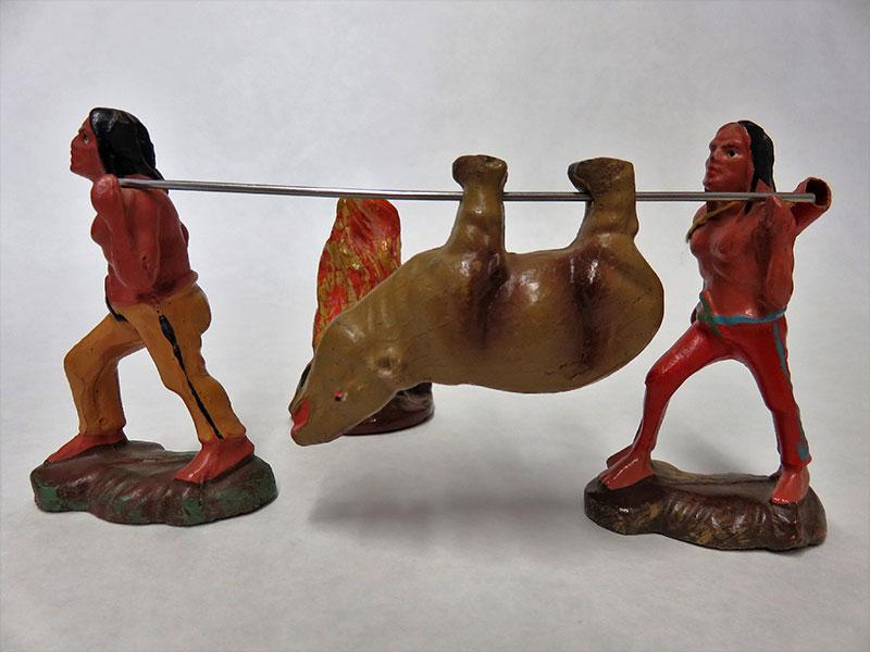 Indianer aus der Sammlung Uwe Kertscher