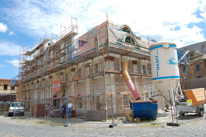 Großmühle Grimma Sanierung Juni 2020