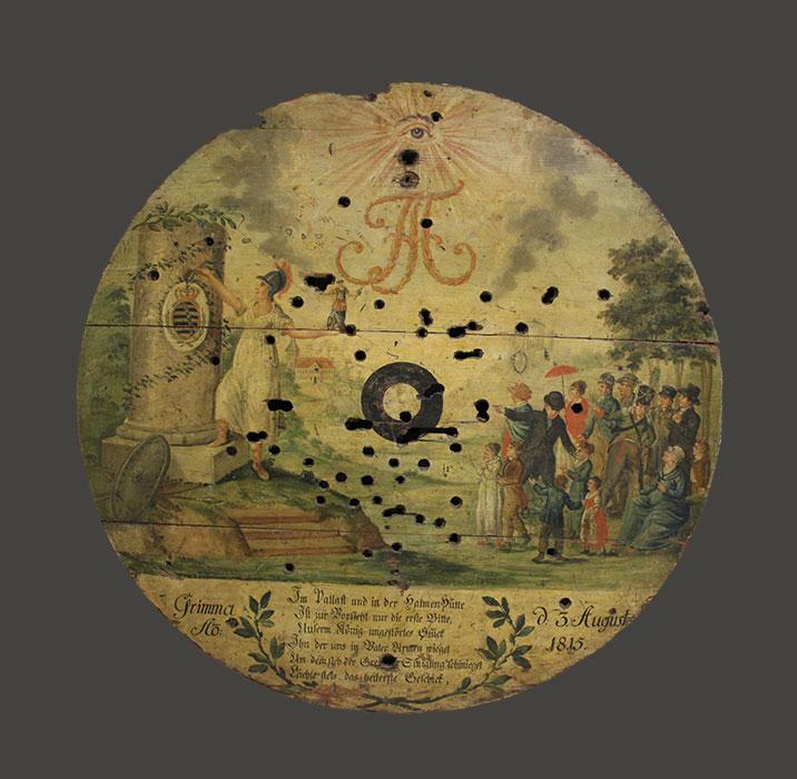 Königsscheibe, 1815