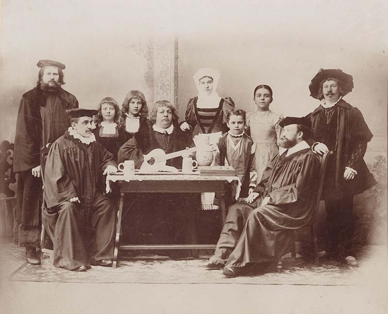 Lutherfestspiel in Grimma 1894