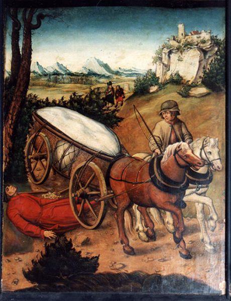 Bildtafel aus dem Nikolaialtar