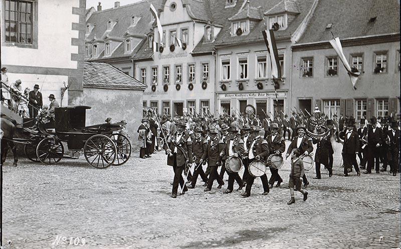 Schützenfest, Foto: B. Voigtländer, wohl 1930