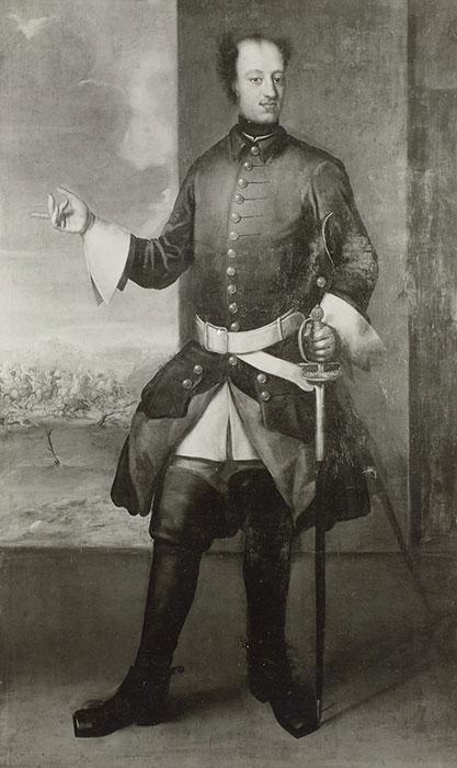 König Karl XII. von Schweden, 1697-1718 Mit dem Tod des als uneinsichtig geltenden Königs verlor Schweden im Großen Nordischen Krieg seine Stellung als Großmacht. Abbildung: SLUB Dresden / Deutsche Fotothek / Walter Möbius