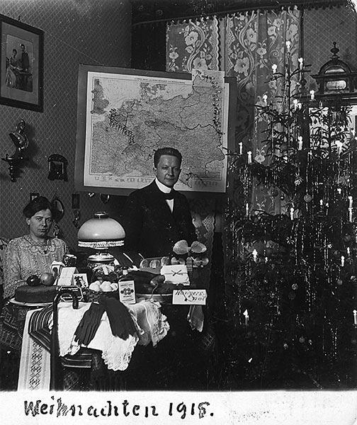 Deutsche Weihnacht — Fotos von 1900 -1945