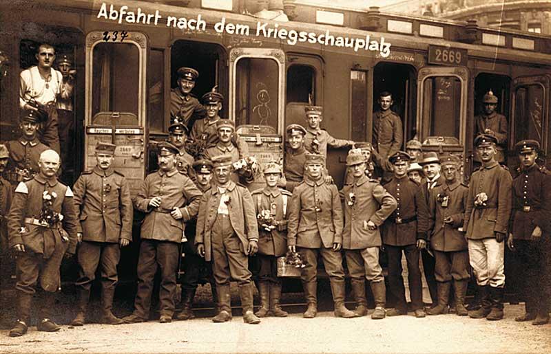 Zwischen Heimatfront und Schützengraben – Der Erste Weltkrieg im Muldental