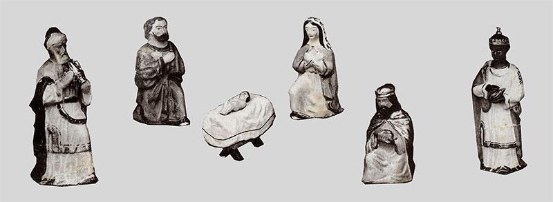 Altes neu belebt – Krippenfiguren aus dem Erzgebirge – Lahlfiguren