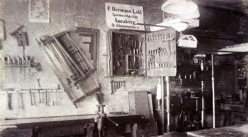 Werkstatt vor 1900