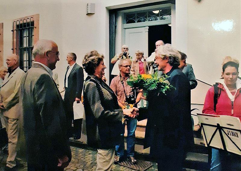 Ausstellungseröffnung mit Günter Ketelhut