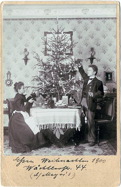 Deutsche Weihnacht — Fotos von 1900-1945